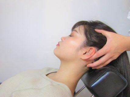 『慢性疲労、睡眠不足に◎』頭蓋骨ヘッドスパ