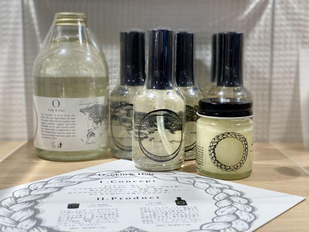 O skin & hair|オースキン&ヘア|福岡薬院アールヘア取り扱いスタート