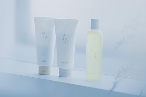 UTAU 頭皮や髪に200種類以上の栄養素を補給するサジーオイル配合ヘアケア